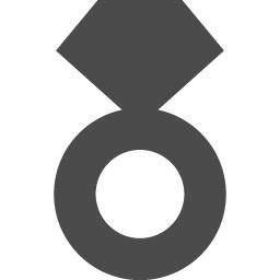 シンプルな指輪アイコン1 アイコン素材ダウンロードサイト Icooon Mono 商用利用可能なアイコン素材が無料 フリー ダウンロードできるサイト