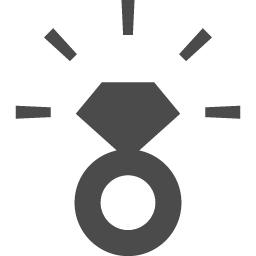 シンプルな指輪アイコン2 アイコン素材ダウンロードサイト Icooon Mono 商用利用可能なアイコン素材が無料 フリー ダウンロードできるサイト