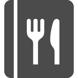 食事メニューアイコン1 アイコン素材ダウンロードサイト Icooon Mono 商用利用可能なアイコン 素材が無料 フリー ダウンロードできるサイト
