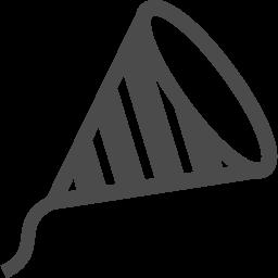 クラッカーアイコン4 アイコン素材ダウンロードサイト Icooon Mono 商用利用可能なアイコン素材 が無料 フリー ダウンロードできるサイト