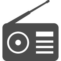 ラジオアイコン1 アイコン素材ダウンロードサイト Icooon Mono 商用利用可能なアイコン素材が無料 フリー ダウンロードできるサイト