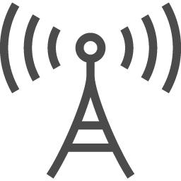 電波塔のフリーイラスト2 アイコン素材ダウンロードサイト Icooon Mono 商用利用可能なアイコン素材が無料 フリー ダウンロードできるサイト