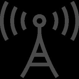 電波塔のフリーイラスト2 アイコン素材ダウンロードサイト Icooon Mono 商用利用可能なアイコン 素材が無料 フリー ダウンロードできるサイト