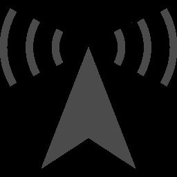 電波塔アイコン4 アイコン素材ダウンロードサイト Icooon Mono 商用利用可能なアイコン素材が無料 フリー ダウンロードできるサイト