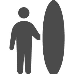 サーフィンアイコン2 アイコン素材ダウンロードサイト Icooon Mono 商用利用可能なアイコン素材が無料 フリー ダウンロードできるサイト