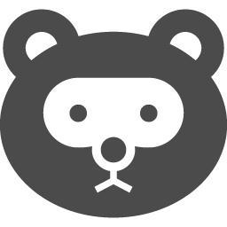 たぬきアイコン1 アイコン素材ダウンロードサイト Icooon Mono 商用利用可能なアイコン素材が無料 フリー ダウンロードできるサイト