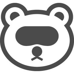 たぬきアイコン2 アイコン素材ダウンロードサイト Icooon Mono 商用利用可能なアイコン素材が無料 フリー ダウンロードできるサイト