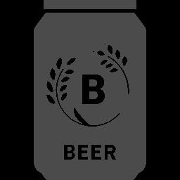 缶ビールアイコン2 アイコン素材ダウンロードサイト Icooon Mono 商用利用可能なアイコン素材が無料 フリー ダウンロードできるサイト