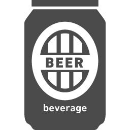 缶ビールアイコン素材3 アイコン素材ダウンロードサイト Icooon Mono 商用利用可能なアイコン 素材が無料 フリー ダウンロードできるサイト