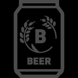 缶ビールフリー素材5 アイコン素材ダウンロードサイト Icooon Mono 商用利用可能なアイコン素材が無料 フリー ダウンロードできるサイト