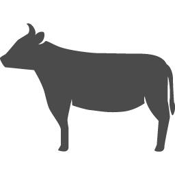 牛アイコン5 アイコン素材ダウンロードサイト Icooon Mono 商用利用可能なアイコン素材が無料 フリー ダウンロードできるサイト