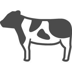 Cow Icon 6 アイコン素材ダウンロードサイト Icooon Mono 商用利用可能なアイコン素材が無料 フリー ダウンロードできるサイト