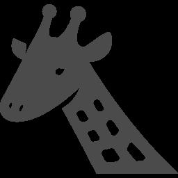 キリンアイコン3 アイコン素材ダウンロードサイト Icooon Mono 商用利用可能なアイコン素材が無料 フリー ダウンロードできるサイト