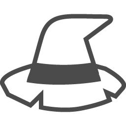魔女の帽子のの無料素材4 アイコン素材ダウンロードサイト Icooon Mono 商用利用可能なアイコン素材 が無料 フリー ダウンロードできるサイト