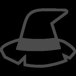 魔女の帽子のの無料素材4 アイコン素材ダウンロードサイト Icooon Mono 商用利用可能なアイコン素材が無料 フリー ダウンロードできるサイト