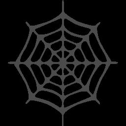 クモの巣のフリー素材1 アイコン素材ダウンロードサイト Icooon Mono 商用利用可能なアイコン素材が無料 フリー ダウンロードできるサイト