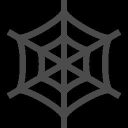 クモの巣アイコン3 アイコン素材ダウンロードサイト Icooon Mono 商用利用可能なアイコン素材が無料 フリー ダウンロードできるサイト