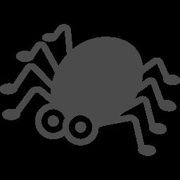 蜘蛛のイラスト2 アイコン素材ダウンロードサイト Icooon Mono 商用利用可能なアイコン素材が無料 フリー ダウンロードできるサイト