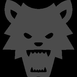 狼男の無料素材2 アイコン素材ダウンロードサイト Icooon Mono 商用利用可能なアイコン素材が無料 フリー ダウンロードできるサイト