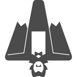 ドラキュラのイラスト6 アイコン素材ダウンロードサイト Icooon Mono 商用利用可能なアイコン素材が無料 フリー ダウンロードできるサイト