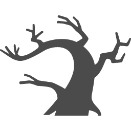 枯れ木アイコン アイコン素材ダウンロードサイト Icooon Mono 商用利用可能なアイコン素材が無料 フリー ダウンロードできるサイト