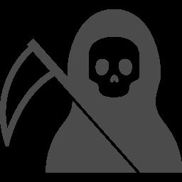 死神のフリーアイコン3 アイコン素材ダウンロードサイト Icooon Mono 商用利用可能なアイコン素材が無料 フリー ダウンロードできるサイト