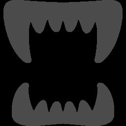 牙アイコン2 アイコン素材ダウンロードサイト Icooon Mono 商用利用可能なアイコン素材が無料 フリー ダウンロードできるサイト