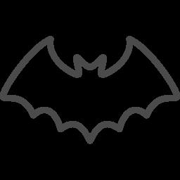 コウモリのイラスト素材5 アイコン素材ダウンロードサイト Icooon Mono 商用利用可能なアイコン素材が無料 フリー ダウンロードできるサイト