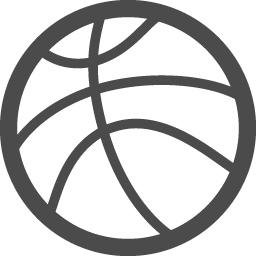 バスケットボールの無料アイコン1 アイコン素材ダウンロードサイト Icooon Mono 商用利用可能なアイコン素材が無料 フリー ダウンロードできるサイト