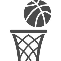 バスケットゴールアイコン3 アイコン素材ダウンロードサイト Icooon Mono 商用利用可能なアイコン 素材が無料 フリー ダウンロードできるサイト
