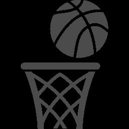 バスケットゴールアイコン3 アイコン素材ダウンロードサイト Icooon Mono 商用利用可能なアイコン素材が無料 フリー ダウンロードできるサイト