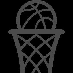 バスケットゴールのイラスト5 アイコン素材ダウンロードサイト Icooon Mono 商用利用可能なアイコン素材が無料 フリー ダウンロードできるサイト