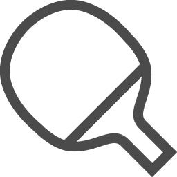 卓球のフリー素材1 アイコン素材ダウンロードサイト Icooon Mono 商用利用可能なアイコン素材が無料 フリー ダウンロードできるサイト