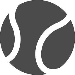 テニスボールアイコン1 アイコン素材ダウンロードサイト Icooon Mono 商用利用可能なアイコン素材が無料 フリー ダウンロードできるサイト