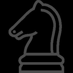 チェスの無料アイコン8 アイコン素材ダウンロードサイト Icooon Mono 商用利用可能なアイコン素材が無料 フリー ダウンロードできるサイト
