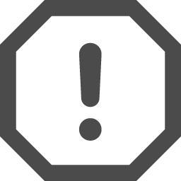 注意マーク9 アイコン素材ダウンロードサイト Icooon Mono 商用利用可能なアイコン素材が無料 フリー ダウンロードできるサイト