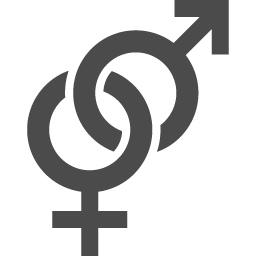 男女マーク2 アイコン素材ダウンロードサイト Icooon Mono 商用利用可能なアイコン素材が無料 フリー ダウンロードできるサイト