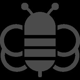 ミツバチアイコン2 アイコン素材ダウンロードサイト Icooon Mono 商用利用可能なアイコン素材が無料 フリー ダウンロードできるサイト