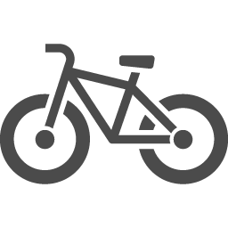 自転車のイラスト1 アイコン素材ダウンロードサイト Icooon Mono 商用利用可能なアイコン素材が無料 フリー ダウンロードできるサイト
