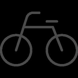 自転車アイコン5 アイコン素材ダウンロードサイト Icooon Mono 商用利用可能なアイコン素材が無料 フリー ダウンロードできるサイト