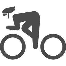サイクリングのピクトグラム1 アイコン素材ダウンロードサイト Icooon Mono 商用利用可能なアイコン素材が無料 フリー ダウンロードできるサイト