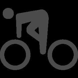 サイクリングの無料アイコン2 アイコン素材ダウンロードサイト Icooon Mono 商用利用可能なアイコン素材が無料 フリー ダウンロードできるサイト