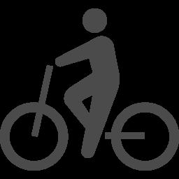 サイクリングのピクトグラム3 アイコン素材ダウンロードサイト Icooon Mono 商用利用可能なアイコン素材が無料 フリー ダウンロードできるサイト