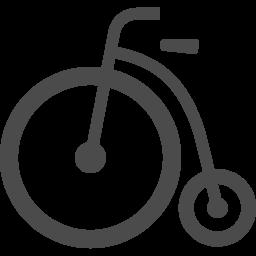 レトロな自転車アイコン アイコン素材ダウンロードサイト Icooon Mono 商用利用可能なアイコン素材が無料 フリー ダウンロードできるサイト