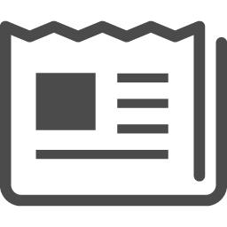新聞の無料アイコン4 アイコン素材ダウンロードサイト Icooon Mono 商用利用可能なアイコン 素材が無料 フリー ダウンロードできるサイト