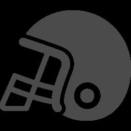 アメフトヘルメットアイコン1 アイコン素材ダウンロードサイト Icooon Mono 商用利用可能なアイコン素材が無料 フリー ダウンロードできるサイト