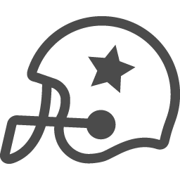 アメフトヘルメットアイコン3 アイコン素材ダウンロードサイト Icooon Mono 商用利用可能なアイコン素材が無料 フリー ダウンロードできるサイト