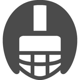 アメフトヘルメットアイコン5 アイコン素材ダウンロードサイト Icooon Mono 商用利用可能なアイコン素材が無料 フリー ダウンロードできるサイト