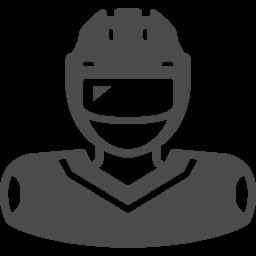 アイスホッケーのイラスト3 アイコン素材ダウンロードサイト Icooon Mono 商用利用可能なアイコン素材が無料 フリー ダウンロードできるサイト