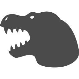 恐竜の無料アイコン1 アイコン素材ダウンロードサイト Icooon Mono 商用利用可能なアイコン素材が無料 フリー ダウンロードできるサイト